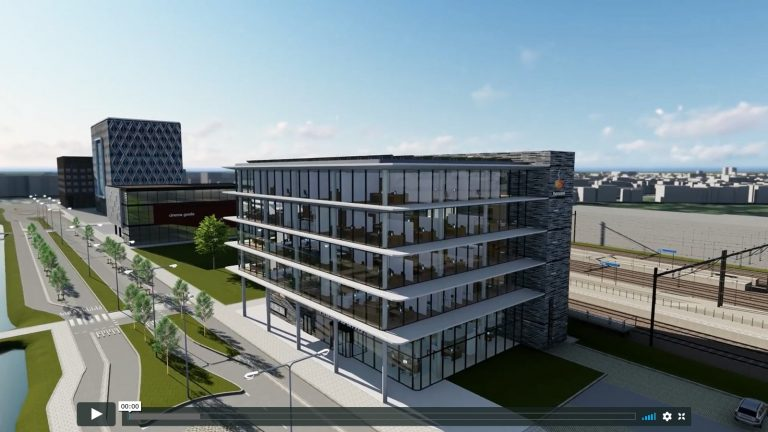 Rabobank – visualization of a new building