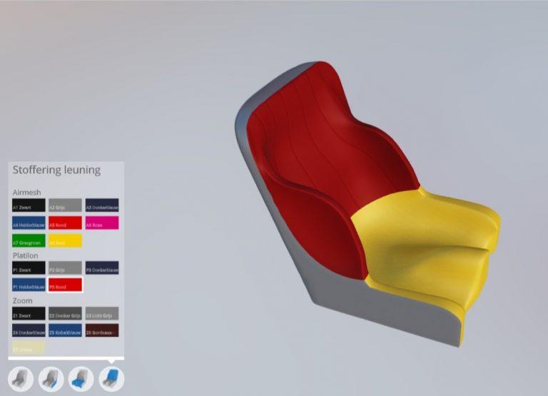 Supportec – 3D fabric Configurator