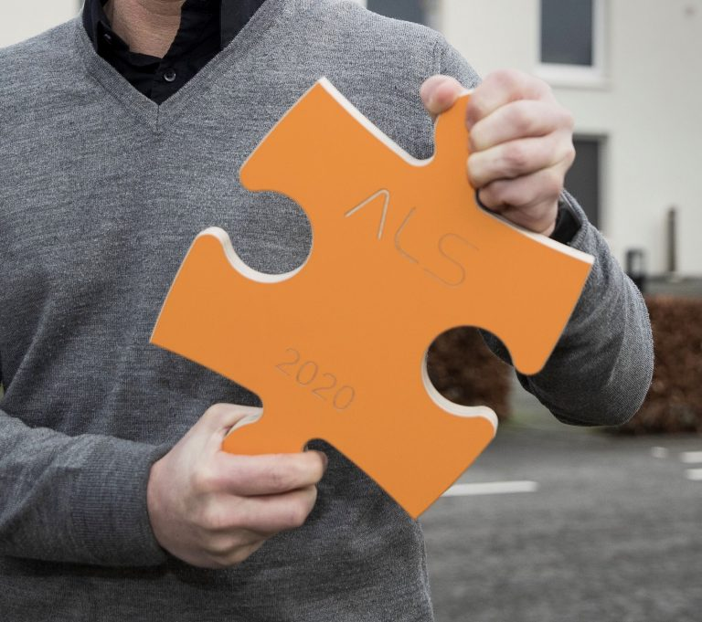 Stichting ALS – promotion trailer puzzle action