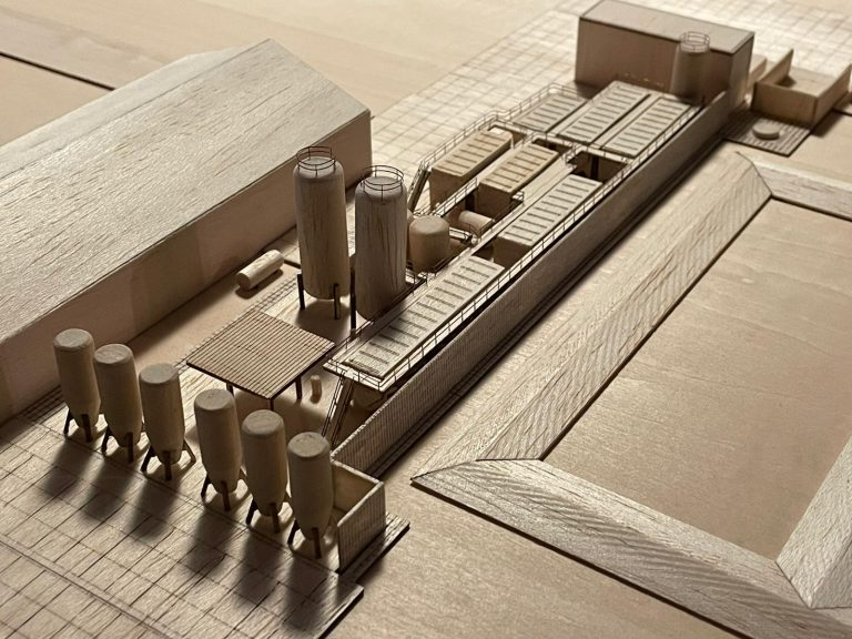 SWECO – analog wooden 3D print
